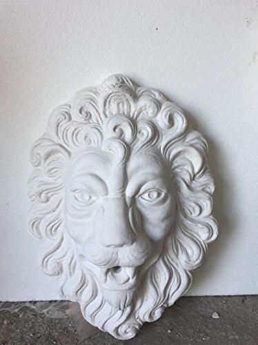 ArTISTICA GRANILLO masker leeuw fontein beeld grootte 50 x 35 cm