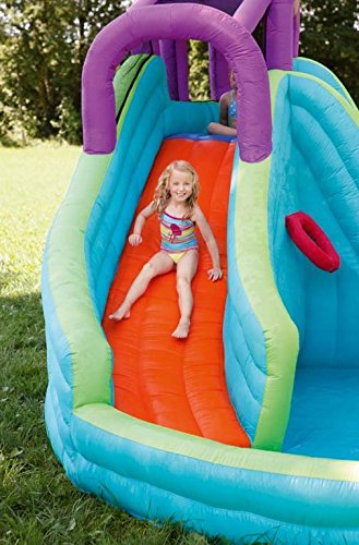 An outdoor water slide is one of the best outdoor toys for kids