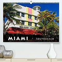 Miami South Beach (Premium, hochwertiger DIN A2 Wandkalender 2022, Kunstdruck in Hochglanz): South Beach - d e r Art Déco District in Miami (Monatskalender, 14 Seiten )