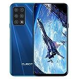 CUBOT X30 Smartphone sin contrato, 8 GB de RAM/128 GB, pantalla HD de 6,4 pulgadas, 5 cámaras de 48 MP, batería de 4200 mAh, Android 10, Dual SIM, versión global, color azul