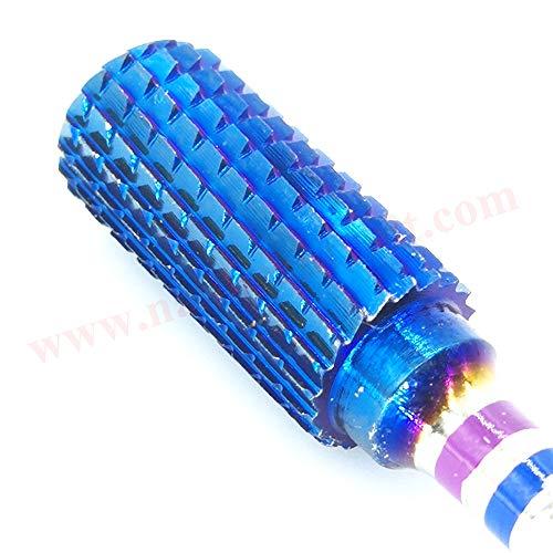 NBB Foret carbure 1pc, Blue Nano, queue 3/32\