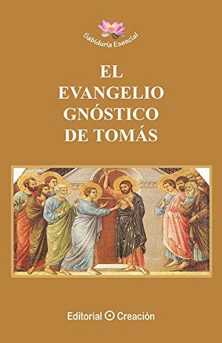 Portada del libro El Evangelio Gnóstico de Tomás de Jesús García-Consuegra González