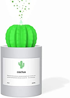 AmuseNd USB Cool Mist Humidifier, Mini Size Cactus Humidifier for Bedroom Home Office Car..