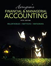 Horngren's Financial & Managerial Accounting Plus MyLab Accounting with Pearson eText -- Access Card Package (5th Edition) (Miller-Nobles et al., The Horngren Accounting Series)