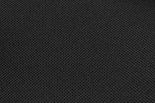 Auto Equipe - Tela de tapicería para el interior del automóvil - Color negro - Por metro - Para el interior del automóvil, paneles, etc