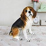 HTRA Figuritas Decorativas Simulación Decoración para Perros Bigger Beagle Modelo Living Room TV Cabinet