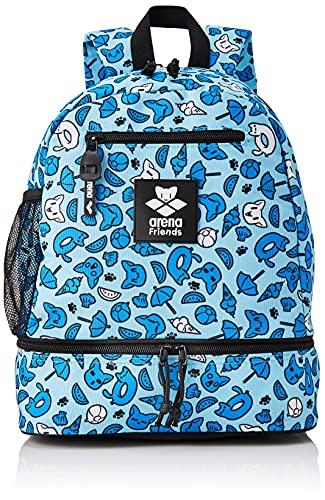 ARENA Unisex-Youth Team Backpack Friends Taschen, Blue, NS