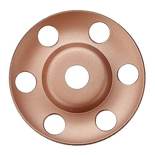 Hoja de Sierra Circular, Angle Grinder 125mm ver a través del disco de carburo de tungsteno de madera que forma la madera Plato Disco Talla (Grit: : 60)
