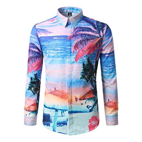 Poachers Camisas de Hombre de Vestir Camisas Hawaianas Hombre Tallas Grandes Camisas...
