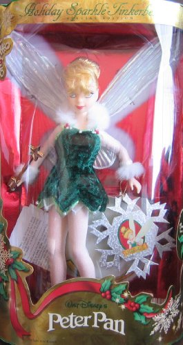 Disney Peter Pan HOLIDAY SPARKLE TINKERBELL Doll Special Edition (1999)