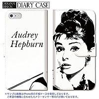 301-sanmaruichi- iPhone6s ケース アイフォン6 ケース 手帳型 おしゃれ Audrey Hepburn オードリー・ヘップバーン オードリー A 手帳ケース