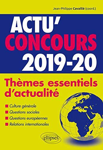Thèmes essentiels d'actualité - 2019-2020