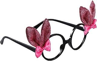 STOBOK 2 Piezas Gafas de Sol de Conejito de Pascua Gafas de Oreja de Conejo de Bowknot de Dibujos Animados Niños Creativos Disfrazados