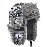 Janey&Rubbins Russian Hat Fur Soviet Ushanka Cossack...