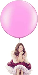 36 Inch Big Round Balloons 5 Pack Thick Giant Balloons for Photo Shoot Wedding Baby Shower Birthday Party Decorations by IN-JOOYAA