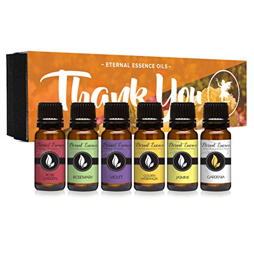 Set of 6 Premium Grade Fragrance Oils