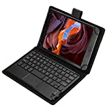 TouchPad Keyboard Case pour 7', 8' tablettes, Clavier Tactile Bluetooth sans Fil fonctionnant 100...