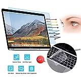 VIUAUAX MacBook Pro 13' Screen Protector - Anti Blue Light Anti...