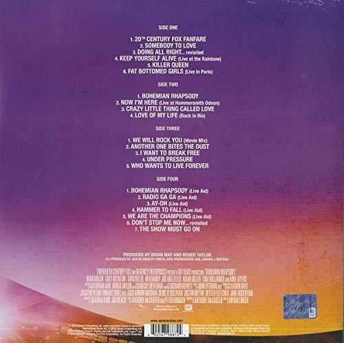 Queen – Bohemian Rhapsody (the Original Soundtrack) (2lp) [Vinyl LP] - 2