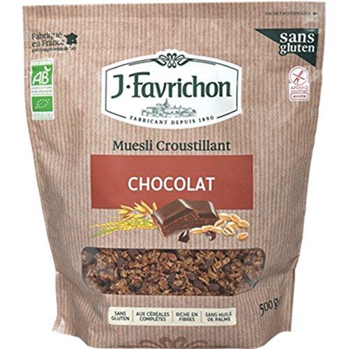 FAVRICHON Muesli Choco Sans Gluten 500G Bio -