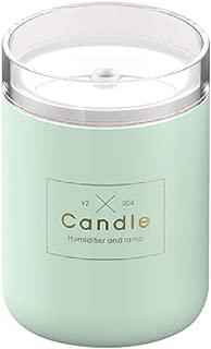 joyMerit 280ml Candle Shape LED Mist Maker Air Humidifier USB Car Purifier - Blue