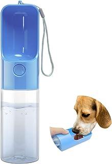 Esing Dog Water Bottle for Walking Portable Dogs Drinking Bowls Outdoor Pet Dispenser Puppy Travel Water Bottles(Blue)