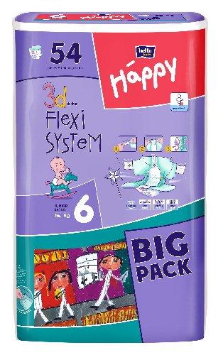 Bella Baby Happy Windeln Junior Extra Gr. 6 54 Stck. (16+ Kg)