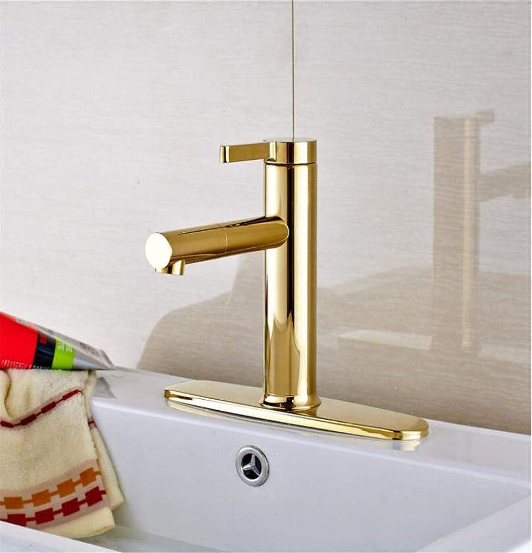 360 ° drehbaren Wasserhahn Retro Wasserhahn Waschbecken Wasserhahn Deck Montiert Einhebelmischer Mit Abdeckplatte