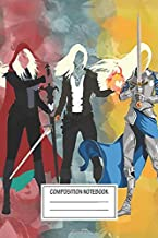 Notebook: Throne Of Glass Series Watercolor , Journal for Writing, Size 6