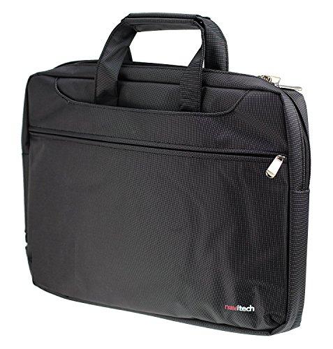 Navitech Schwarz Case/Cover Trage Tasche für das HP Pavilion 15