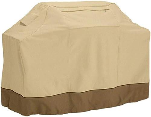SEBAS Home Tente extérieure Prougeection Contre Le Soleil en Plein air Tissu Oxford 300D Anti-poussière et Anti-Pluie UV (Couleur   Beige, Taille   183x66x130cm)