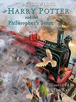 [J.K. Rowling, Jim Kay]のHarry Potter and the Philosopher's Stone: Illustrated [Kindle in Motion] (Illustrated Harry Potter Book 1) (English Edition)