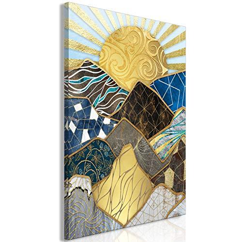 murando Cuadro Acústico Puesta de Sol 60x90 cm XXL Impresión...
