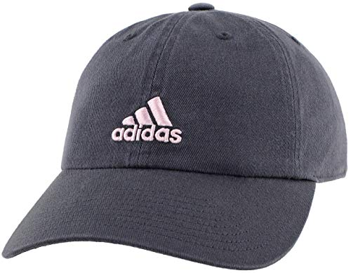 adidas Women's Saturday Cap, Deepest Space/Aero Pink, ONE SIZE