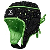 Gilbert Unisexe Ignite Tête Guard-Black/Vert, 148,6 cm/L