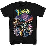 Marvel X-Men Vs Apocalypse Comics 90's Cover Adult T-Shirt Black