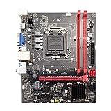 Seasaleshop H81 Carte mère d'ordinateur de Bureau Socket LGA 1150 i3 i5 i7 iDR DDR3 16G BIOS UEFI Micro-ATX
