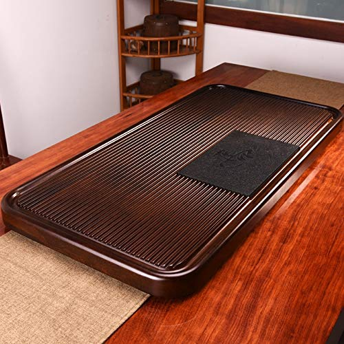 Cheapest Price! Household Solid Wood Drainage Type Rectangle Tea Tray Tea Table,The Land Of Woods An...