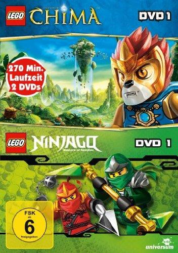 LEGO: Legends of Chima, Vol. 1/LEGO: Ninjago, Vol. 1 (2 DVDs)