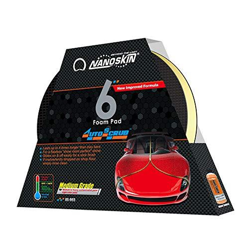 NANOSKIN AUTOSCRUB Wash Mitt 6/'/'x8.7/'/' Medium Grade Speedy Clay AS-010