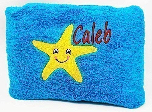 Beach Towels Embroidered With Name and Design