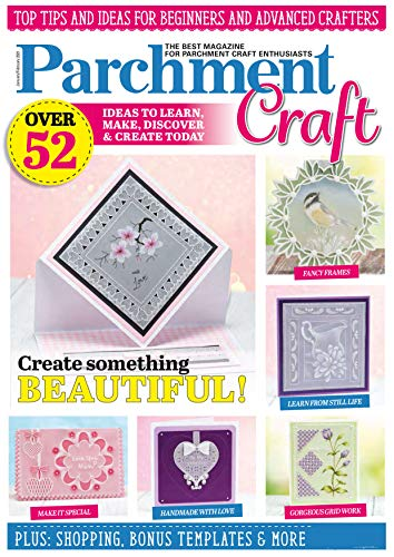 Magazine Parchment Craft - 52 Over ideas To Learn Make Discover & Create Today-2021 (English Edition)