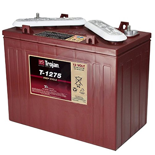 Trojan T-1275 12V 150Ah Flooded Lead Acid Golf Cart Battery FAST USA SHIP