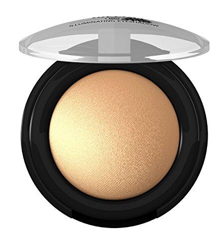 lavera Lidschatten Illuminating Eyeshadow ∙ Farbe Vibrant Gold ∙ farbbrilliant & langanhaltend ∙ Natural & innovative Make up ✔ vegan ✔ Bio Pflanzenwirkstoffe ✔ Naturkosmetik ✔ Augen Kosmetik 1er Pack (1 x 2 g)
