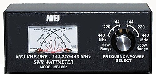 MFJ-862 MFJ862 Original MFJ Enterprises SWR meter, 144/220/440MHz, 30/300W. Buy it now for 98.89