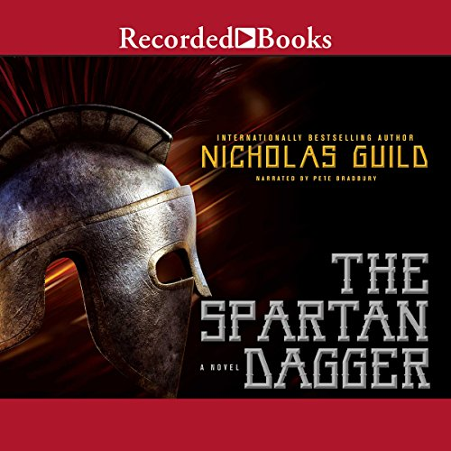 The Spartan Dagger audiobook cover art