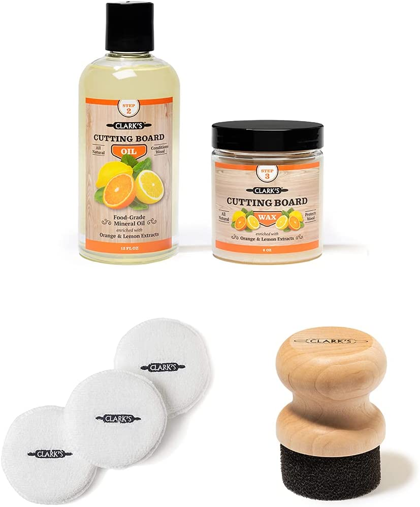 Small Applicator Buffing Pad and shop Orange Oil Wa Board Year-end annual account Cutting