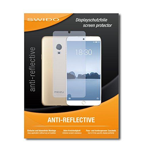 SWIDO Schutzfolie für Meizu M15 [2 Stück] Anti-Reflex MATT Entspiegelnd, Hoher Festigkeitgrad, Schutz vor Kratzer/Bildschirmschutz, Bildschirmschutzfolie, Panzerglas-Folie