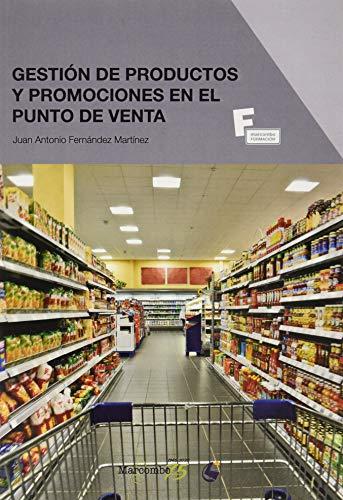 *Gestión de productos y promociones en el punto de venta: 1 (MARCOMBO FORMACIÓN)