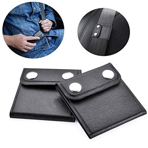 Newseego Auto Sicherheitsgurt Versteller, 2 Pack Auto Gurtversteller Komfortables Universal Sicherheitsgurt Positionierer Relaxen des Schulterhalses Verriegelungsclips Autozubehör